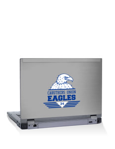 "Caruthers Union Elementary School Eagles 10"" Laptop Skin"