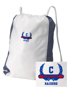 Caruthers High School Raiders Embroidered Holloway Home and Away Cinch Bag