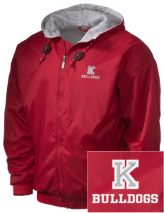 Kratt Elementary School Bulldogs Embroidered Holloway Men's Hooded Jacket
