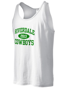 Riverdale High School Cowboys Men's Jersey Tank