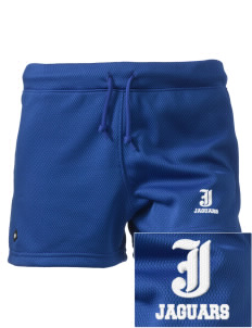 "Jackson Elementary School Jaguars Embroidered Holloway Women's Balance Shorts, 3"" Inseam"