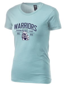 Washington Middle School Warriors Alternative Women's Basic Crew T-Shirt