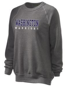 Washington Middle School Warriors Unisex Alternative Eco-Fleece Raglan Sweatshirt
