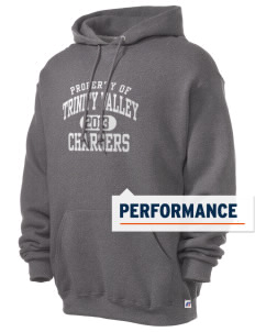 Trinity Valley Elementary School Chargers Russell Men's Dri-Power Hooded Sweatshirt