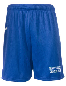 "Trinity Valley Elementary School Chargers  Russell Men's Mesh Shorts, 7"" Inseam"