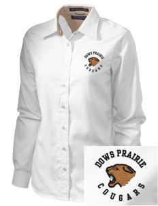 Dows Prairie Elementary School Cougars  Embroidered Women's Pima Advantage Twill