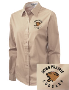 Dows Prairie Elementary School Cougars Embroidered Women's Easy-Care Shirt