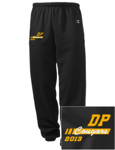 Dows Prairie Elementary School Cougars Embroidered Champion Men's Sweatpants