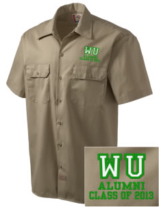 Westmorland Union Elementary School Roadrunners Embroidered Dickies Men's Short-Sleeve Workshirt