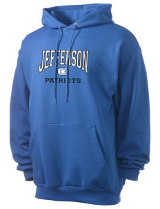 Jefferson Elementary School Patriots Men's 7.8 oz Lightweight Hooded Sweatshirt