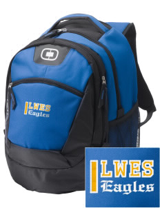 Leith Walk Elementary School Lanterns Embroidered OGIO Rogue Backpack