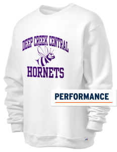 Deep Creek Central Elementary School Hornets  Russell Men's Dri-Power Crewneck Sweatshirt