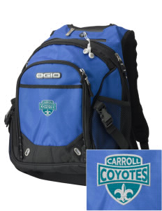 Carroll Elementary School Coyotes Embroidered OGIO Fugitive Backpack