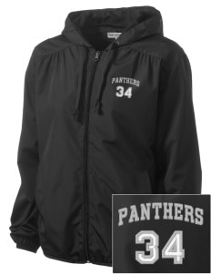 Mountain View Continuation High School Panthers Embroidered Women's Hooded Essential Jacket