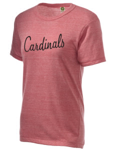 Clear Lake High School Cardinals Embroidered Alternative Unisex Eco Heather T-Shirt