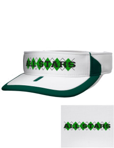 Clover Valley High School All Stars Embroidered M2 Sideline Adjustable Visor
