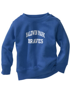 Baldwin Park High School Braves Toddler Crewneck Sweatshirt