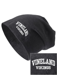 Vineland Elementary School Vikings Embroidered Slouch Beanie
