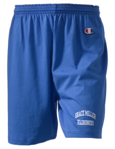 "Grace Miller Elementary School Roadrunners  Champion Women's Gym Shorts, 6"" Inseam"