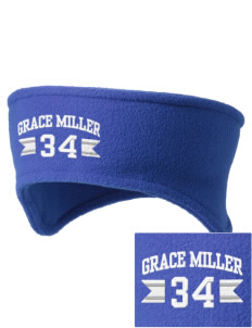 Grace Miller Elementary School Roadrunners Embroidered Fleece Headband