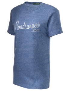 Grace Miller Elementary School Roadrunners Embroidered Alternative Unisex Eco Heather T-Shirt