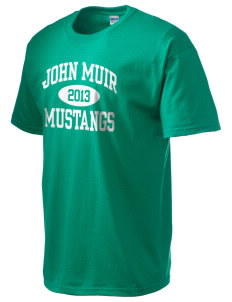 John Muir Middle School Mustangs Ultra Cotton T-Shirt