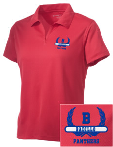 Badillo Elementary School Panthers Embroidered Women's Double Mesh Polo