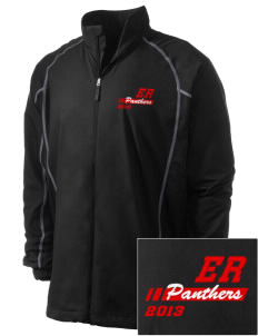 El Roble Intermediate School Panthers Embroidered Men's Nike Golf Full Zip Wind Jacket