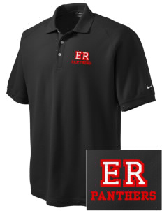 El Roble Intermediate School Panthers Embroidered Nike Men's Pique Knit Golf Polo