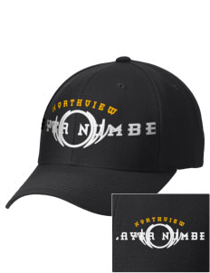 Northview High School Vikings Embroidered Wool Adjustable Cap