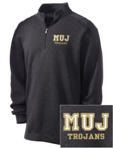 MOUNT UNION AREA jr.sr.HIGHSCHOOL TROJANS Embroidered Nike Men's Golf Heather Cover Up