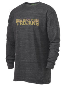 MOUNT UNION AREA jr.sr.HIGHSCHOOL TROJANS Alternative Men's 4.4 oz. Long-Sleeve T-Shirt
