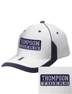 Thompson Elementary School Tigers Embroidered M2 Universal Fitted Contrast Cap