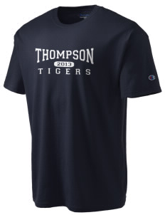 Thompson Elementary School Tigers Champion Men's Tagless T-Shirt