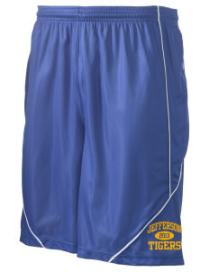 "Jefferson Elementary School Tigers Men's Pocicharge Mesh Reversible Short, 9"" Inseam"