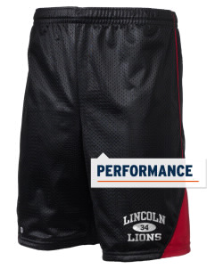 "Lincoln Elementary School Lions Holloway Men's Possession Performance Shorts, 9"" Inseam"