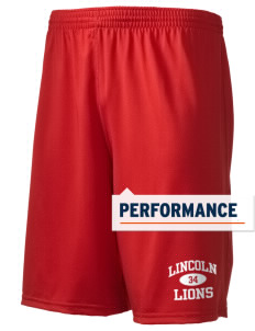 "Lincoln Elementary School Lions Holloway Men's Performance Shorts, 9"" Inseam"