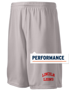 "Lincoln Elementary School Lions Holloway Men's Speed Shorts, 9"" Inseam"