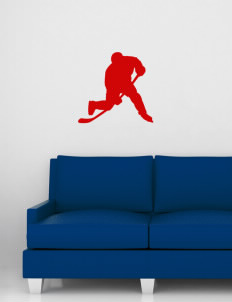 "Lincoln Elementary School Lions Wall Silhouette Decal 20"" x 24"""