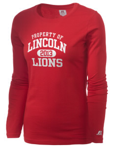 Lincoln Elementary School Lions  Russell Women's Long Sleeve Campus T-Shirt
