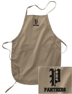 Shadybend Elementary School Panthers Embroidered Full Length Apron
