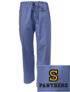 Shadybend Elementary School Panthers Embroidered Scrub Pants