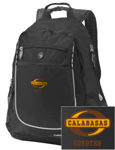 Calabasas High School Coyotes Embroidered OGIO Carbon Backpack