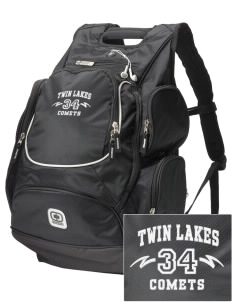 Twin Lakes Elementary School Comets  Embroidered OGIO Bounty Hunter Backpack