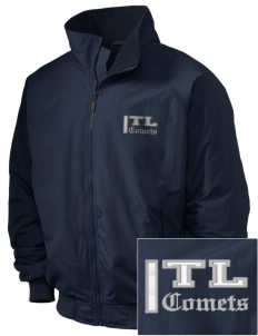 Twin Lakes Elementary School Comets Embroidered Holloway Men's Tall Jacket