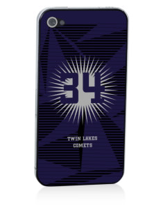 Twin Lakes Elementary School Comets Apple iPhone 4/4S Skin