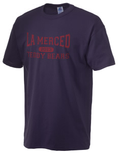 La Merced Elementary School Teddy Bears  Russell Men's NuBlend T-Shirt