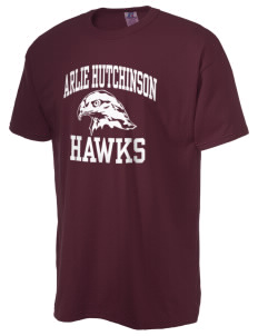 Arlie Hutchinson Middle School Hawks  Russell Men's NuBlend T-Shirt