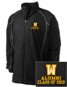 Wildflower Elementary School Wildcats Embroidered Men's Nike Golf Full Zip Wind Jacket