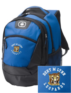 Bert M Lynn Middle School Leopards Embroidered OGIO Rogue Backpack
